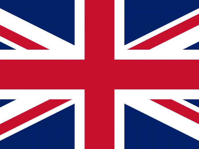 hymne anglais drapeau